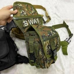 NOVIDADE Cartucheira SWAT!! (POCHETE DE PERNA)