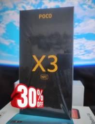 Feirão Xiaomi!  POCO X3 NFC Xiaomi. Lacrado..Pronta entrega!