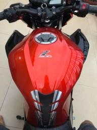 Tanque de combustível Kawazaki z300 laranja 2016