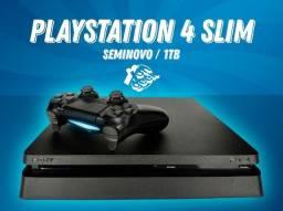 Playstation 4 Slim 1tb seminovo | Garantia de 90 dias