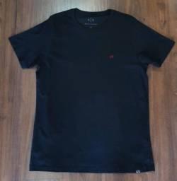 Camiseta Armani Básica Preta