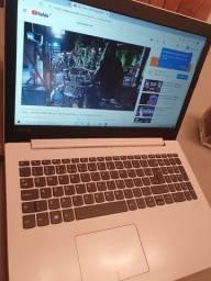 Notebook Lenovo Ideaped branco i3 ( Aceito cartão)