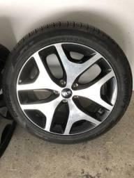 Rodas com pneus Sportage EX original 145/45/19