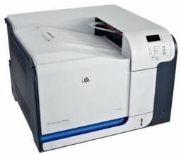 Impressora HP CP3525 com os toners originais, perfeito estado