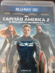 Filme Blu-ray 3D - Capitão América 2 - Soldado Invernal