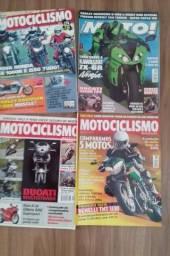 Coleção + 40 revistas Moto