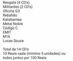 Rock Gospel diversos CDs