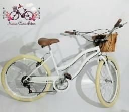 Bicicleta aro 26 retrô vintage modelo exclusivo