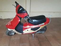 Mini moto a gasolina 50cc 2t - 2012