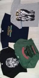 Camisetas Masculinas Diversas em Promoção