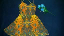 Vestido soltinho lindo -Tam M