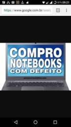 Venda agora o seu notebook com defeito