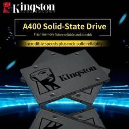 480GB Kingston SSD A400, Novo, lacrado de fábrica, Original, entregamos sem taxa
