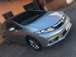 Honda Civic Automatico Lxl 1.8 Top de Linha - 2013