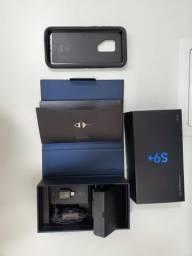 S9 plus com acessórios, NF e capa de proteção