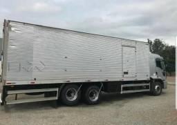 Cargo 2429 Baú com Ar Condicionado - 2013