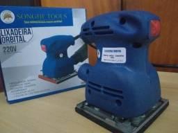 Lixadeira Orbital Treme-Treme 1/4 Lixa 450w 110v Nova