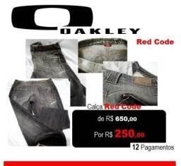 Calça Oakley Blk Denin Etiqueta Vermelha Raríssima de R$ 650 Por $199,90