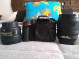 Kit câmera Nikon D7100 (2 meses de uso) pra vender logo