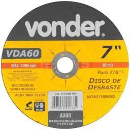 Disco De Desbaste 7 Polegadas Vonder