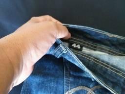 Mini saia jeans Tam 44
