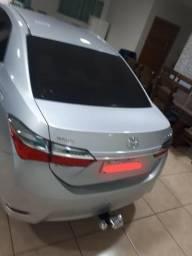 Corolla GLI 1.8 - Prata - Única dona - 2018