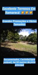 Mega Desconto - Terreno Em Itamaracá - Documentado - Plano - Fruteiras - Cacimba