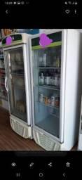 Frezer e geladeira expositor