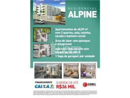 Apartamento à venda com 2 dormitórios em Presidente roosevelt, Uberlandia cod:21336