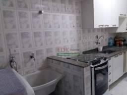Apartamento com 2 dormitórios à venda, 53 m² por R$ 268.000 - Vila Mogilar - Mogi das Cruz
