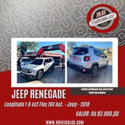 Jeep Renegade Longitude 1.8 4x2 Flex 16V Aut. 2018 Gasolina