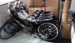 Bicicleta elétrica 800w com alarme