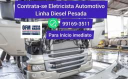 Vaga de Eletricista Automotivo Diesel