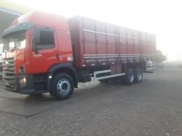 24280 truk ano 2013 com ar condicionado 10 pneus novos graneleiro novo