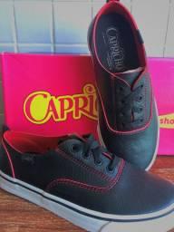 Sapato capricho na caixa