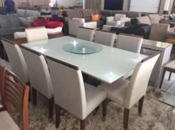 Mesa copa e sala para 8 pessoas