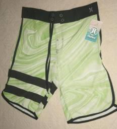 Bermudas elastano Hurley e dry-fit Nike