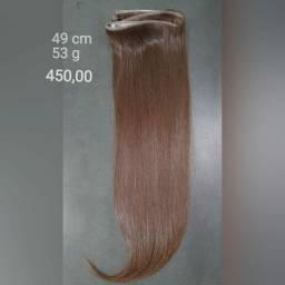 Mega Hair na fita adesiva Slim fit (USADO MENOS DE DOIS MESES)