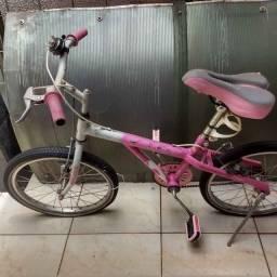 Vende Bicicleta Semi Nova Caloi aceitamos cartão