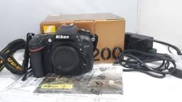 Camera proficional nikon D7200 corpo Novinha