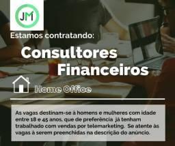 6 vagas - Consultor Financeiro