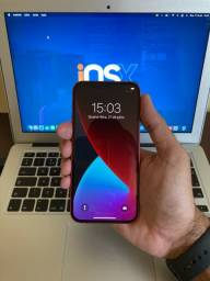 VENDO OU TROCO IPHONE 12 RED 64GB