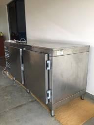 Balcão refrigerado duas portas