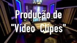 Faça seu vídeo clipe e gravação profissional