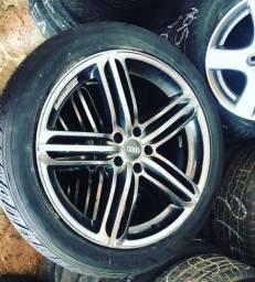Rodas 20 Q5 4 pneus novos 255,45,20