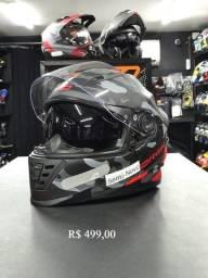 produtos semi-novos capacetes, escape, jaquetas... Jl parts