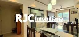 Apartamento à venda com 2 dormitórios em Rio comprido, Rio de janeiro cod:MBAP25501