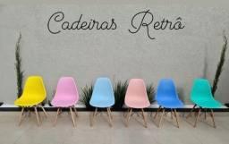 Cadeiras retrô nova