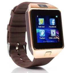 Relógio Inteligente Dz09 Bluetooth Câmera Sim Slot Android