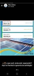 Sistema solar financiado em até 82x
